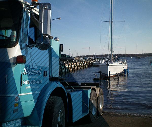 Brownell Boat Transport - Innovating Marine Transportation