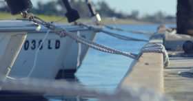 close up photo of a docked boatby Mike Giles on Unsplash