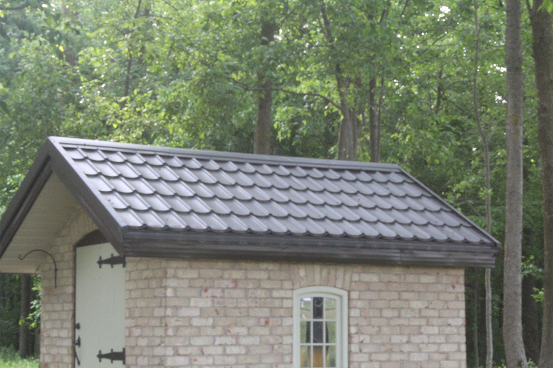Steel Roof Shingles by Master Shake Roofing in Linwood
