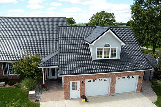 Steel Shed Roof by Master Shake Roofing in Linwood