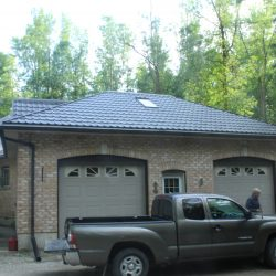 Steel Roofing Strapping by Master Shake Roofing in Linwood