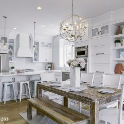Crystorama Solaris Kitchen Light Fixtures in Nashville