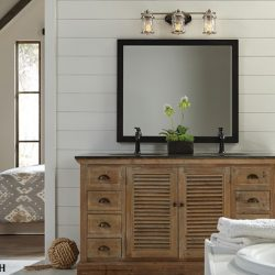 Kichler Ashland Bay Day Bathroom Lighting at Hermitage