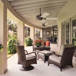 Kichler Canfield Outdoor Fan Lighting at Hermitage in Nashville