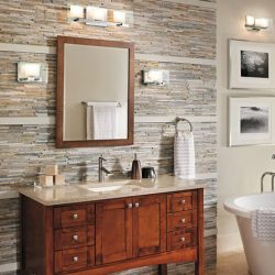 Kichler Como Bathroom Light Fixtures in Nashville