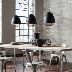 LBL Loft Dining Room Lighting Options in Nashville