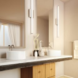 LBL Lighting Lufe Bathroom Lights from Hermitage