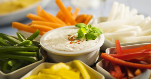 Creamy Dip and Dressing with Veges