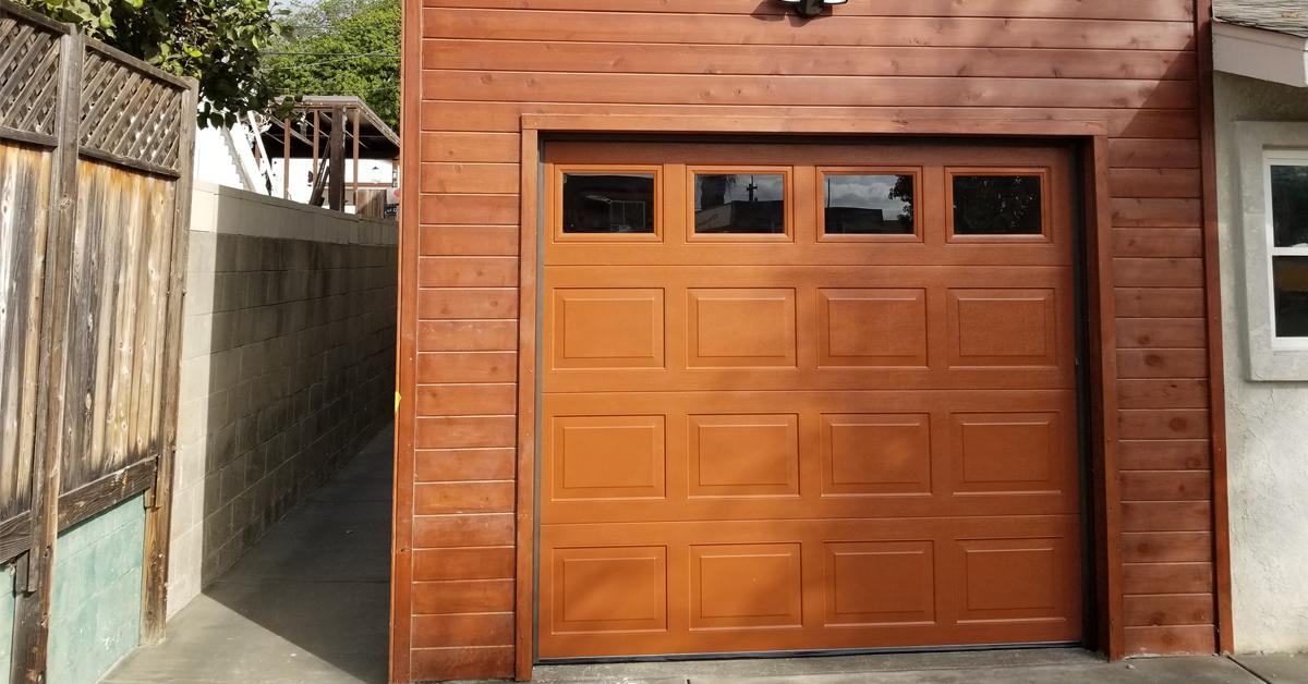 Custom Wood Garage Doors San Diego Wooden Electrical Garage Door