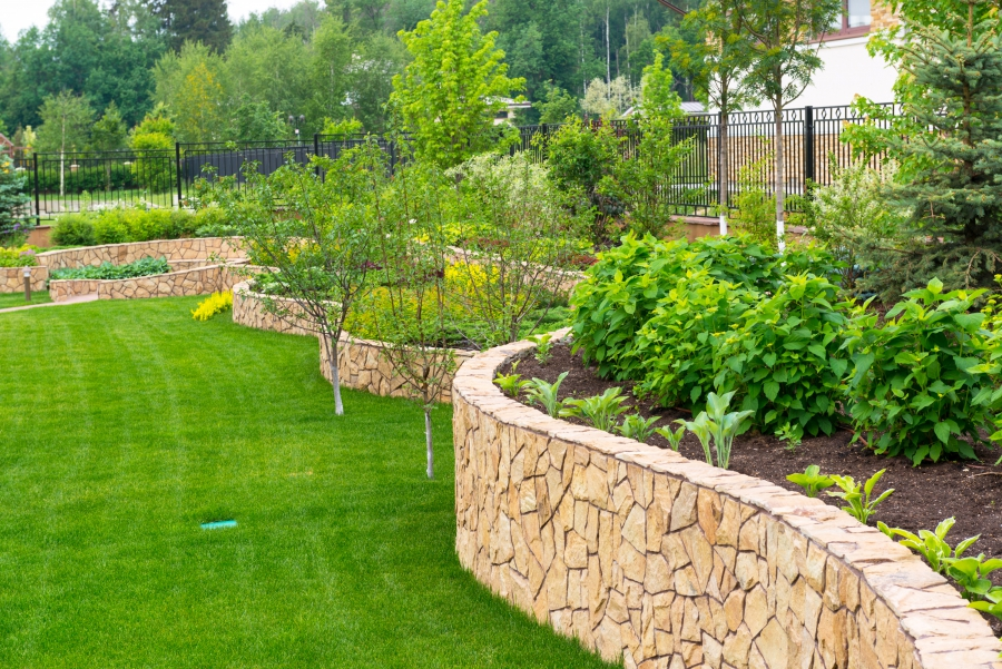 Use our landscaping services!