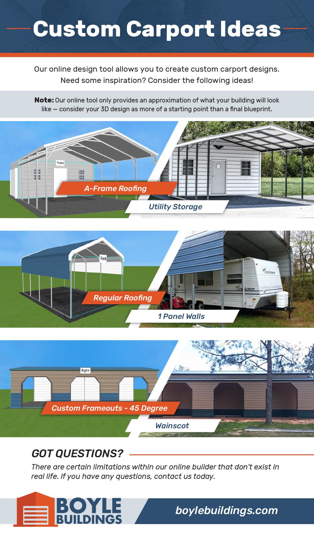 Carport Ideas Infographic