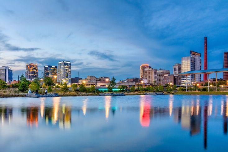 Birmingham Alabama Scheduled Tours