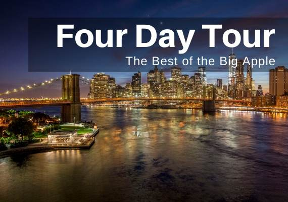 NYC Educational Tours - 4 Days - Call Toll-Free 888-796-8763