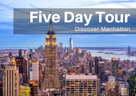 NYC Educational Tours - 5 Days - Call Toll-Free 888-796-8763