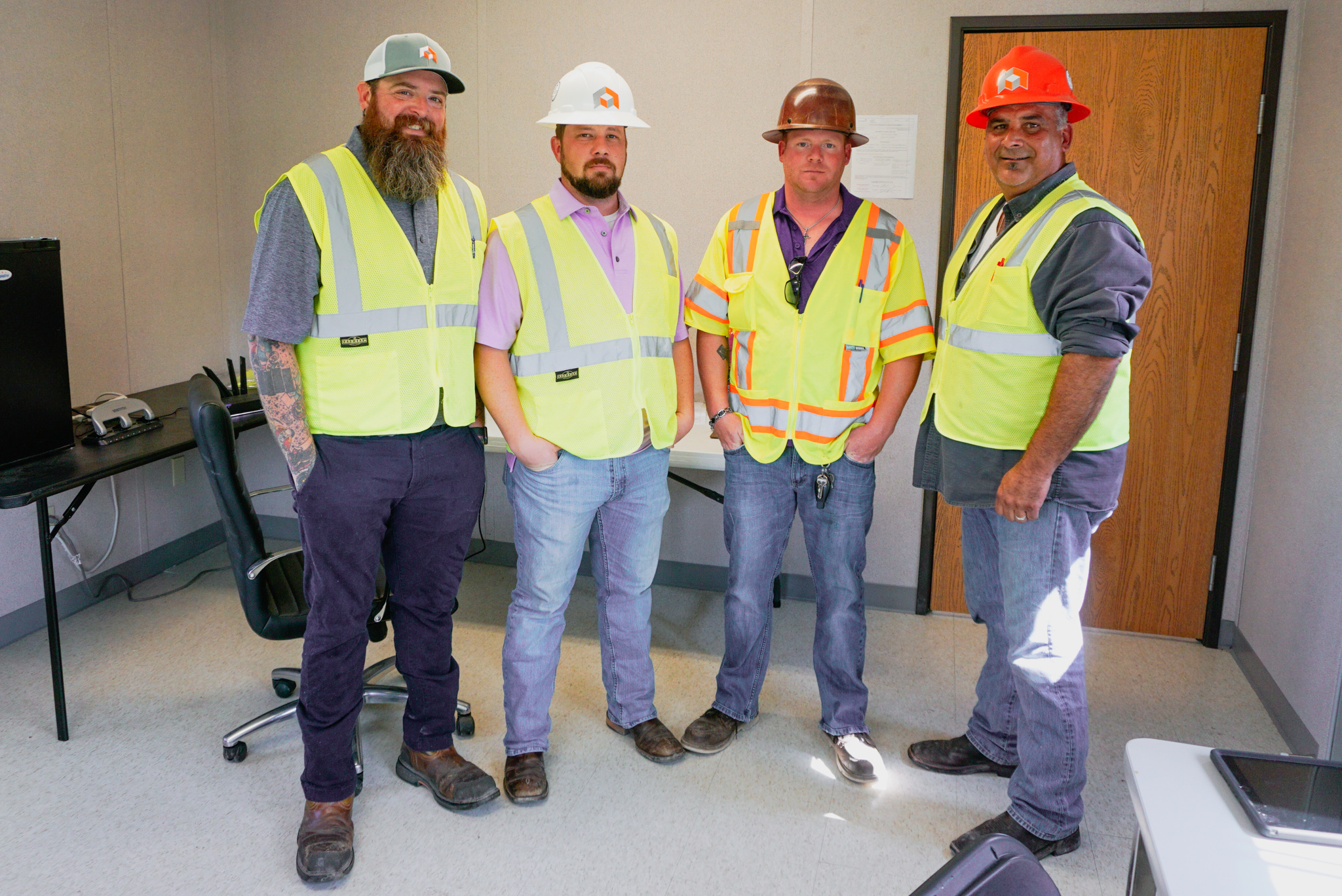 Dynamic site managers and supervisors at W.W. Lewis Middle School in Sulphur, Louisiana