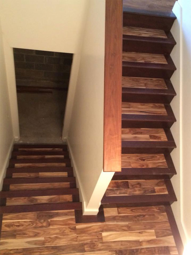 Stairways Custom Wood Stairs In Springfield Il Bailey