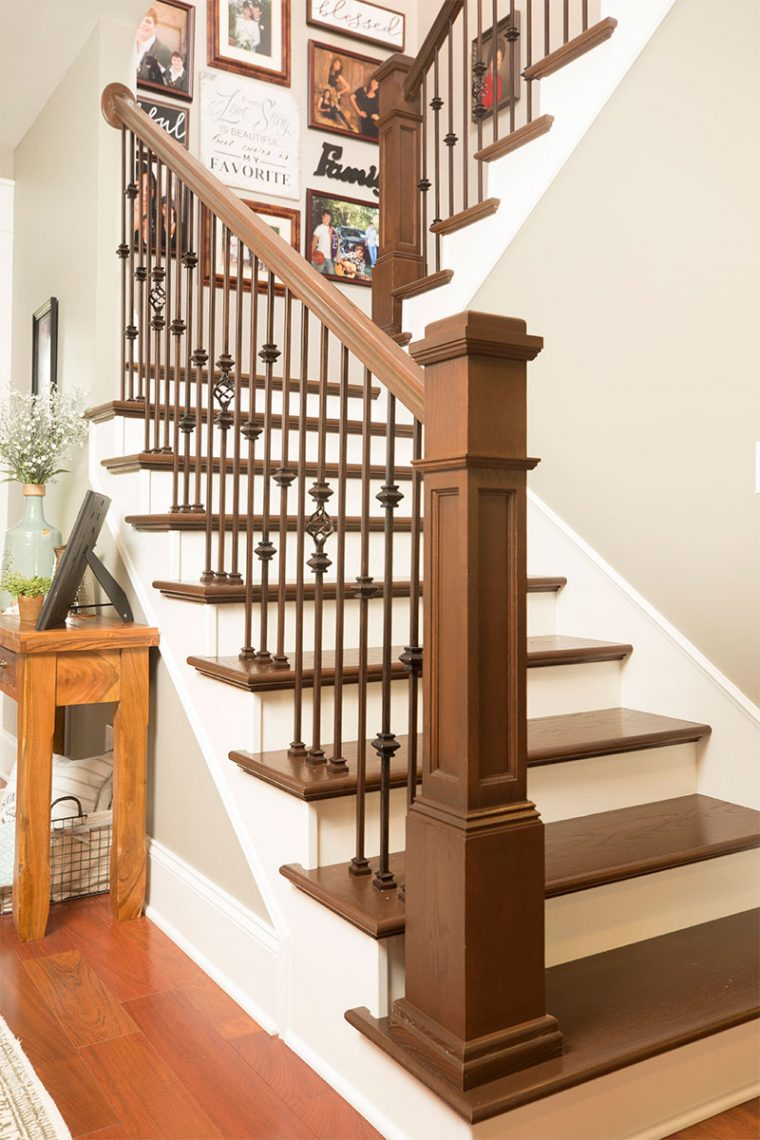 Stairways Custom Wood Stairs In Springfield Il Bailey Custom