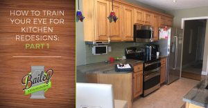 Custom kitchen cabinets by cabinet maker, Bailey Custom Woodworking.