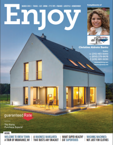 Enjoy Magazine Feb / Mar 2018 Issue Compliments of StoneOakLiving.com