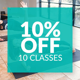 10% OFF 10 Classes