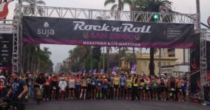 First time marathon runner