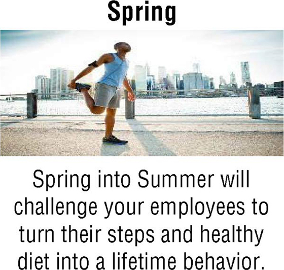 Wellness Challenges Spring Pic