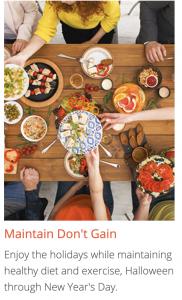 Maintain Don't Gain