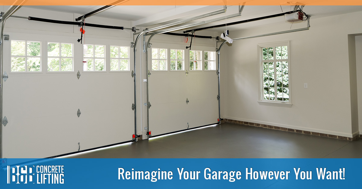 Concrete repair chicago reimagine how you use your garage