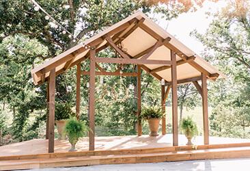 chapel arbor