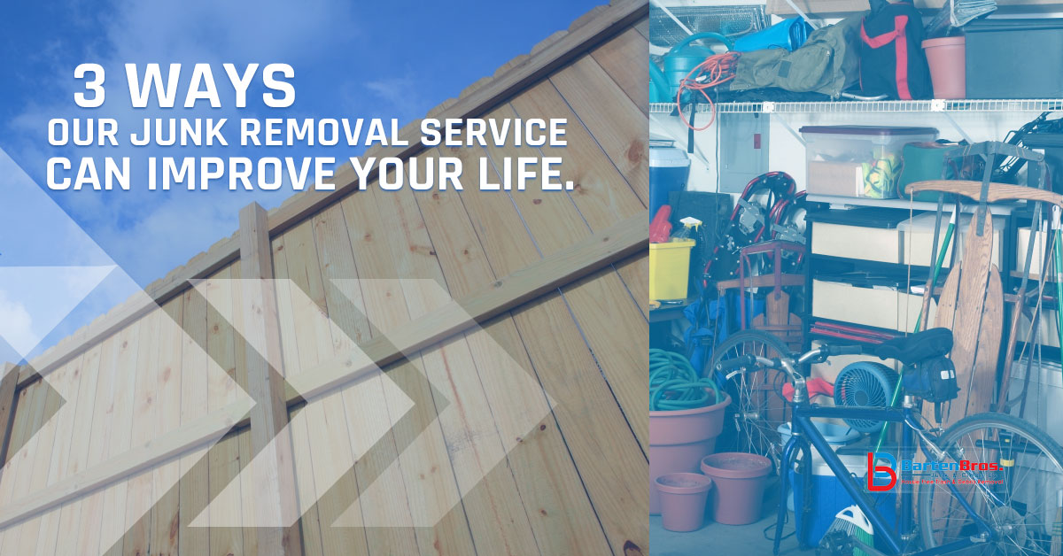 Junk Removal NJ: A Few Ways We Can Make Your Life Easier