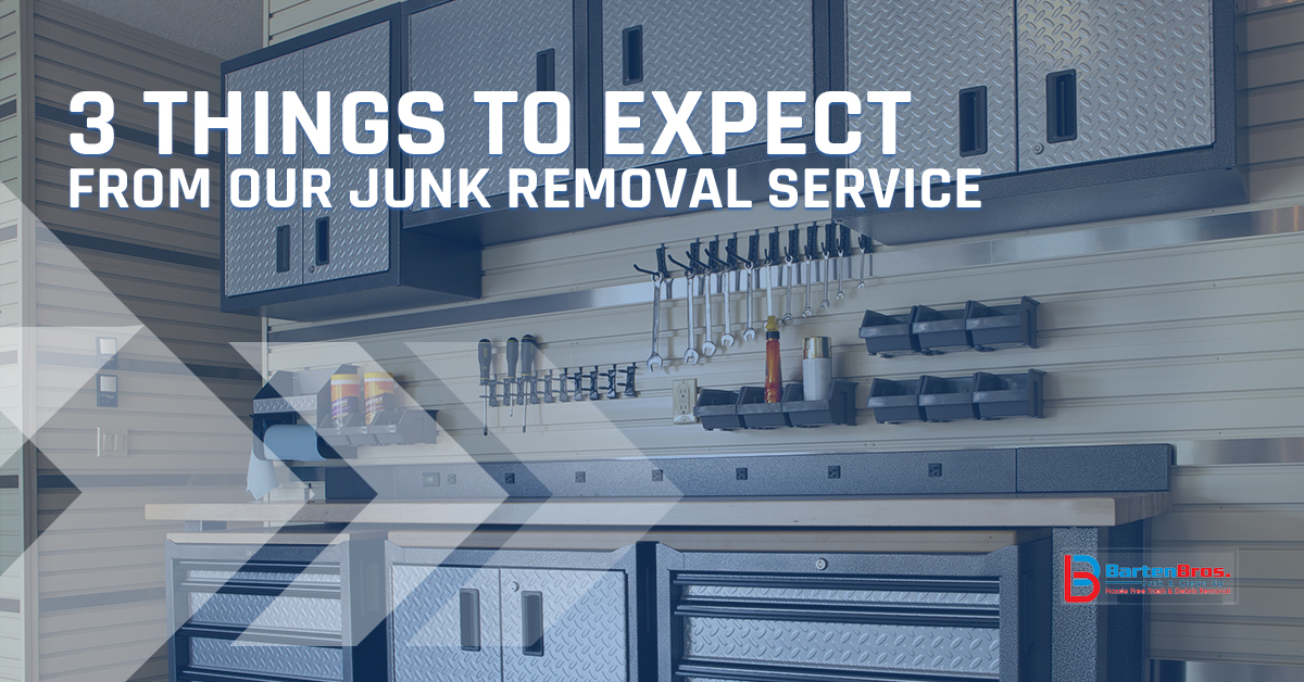 Junk Removal Point Pleasant: 3 Things to Expect From Our Team
