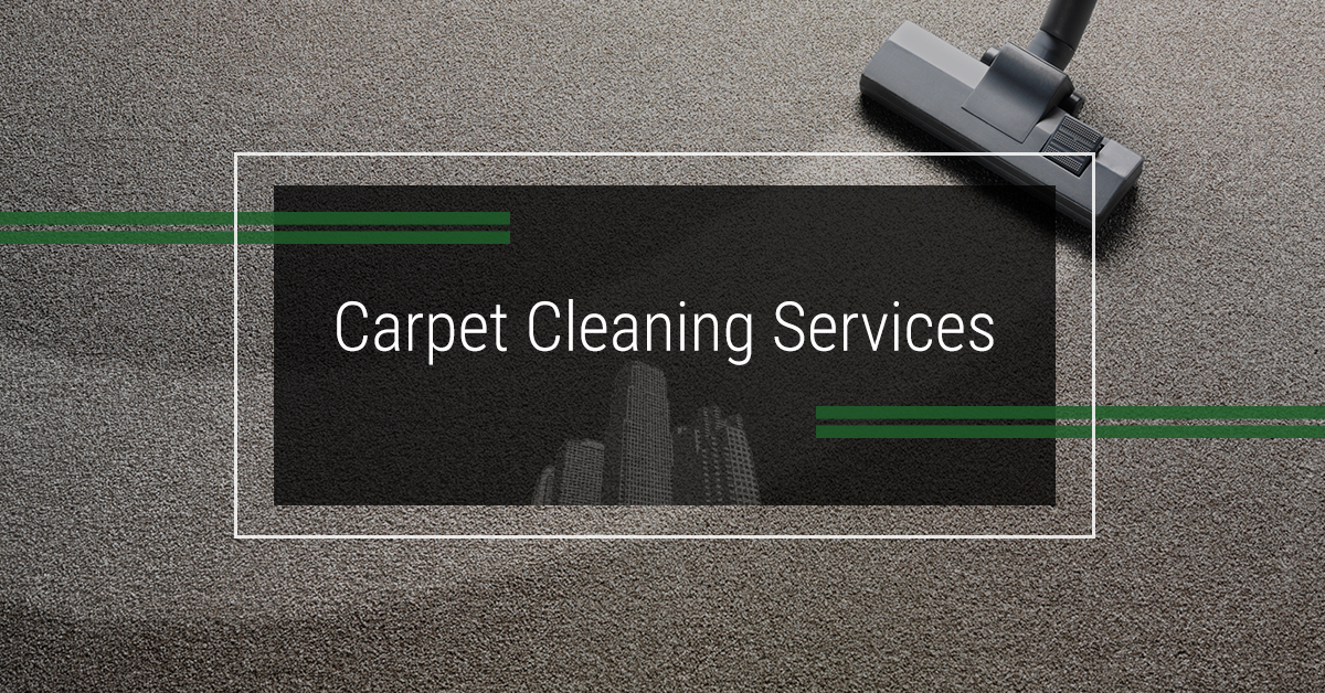 Carpet cleaning services page banner