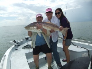 Biggest Red Fish She Ever Caught