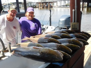 Clients That Wanted To Fish Some Red Fish And That They Did