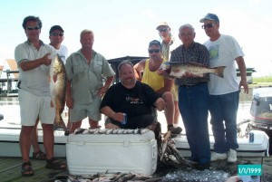 Speckle Trout and Red Fish Charter