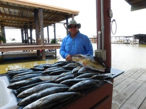 Speckled Trout Charters With Capt. Clay