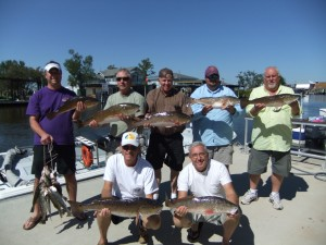 Bayou Log Cabins Red Fish Charter