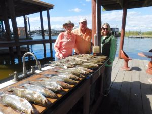 A Great Day On The Water Catching Speckled Trout