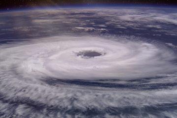 Hurricane Over Texas