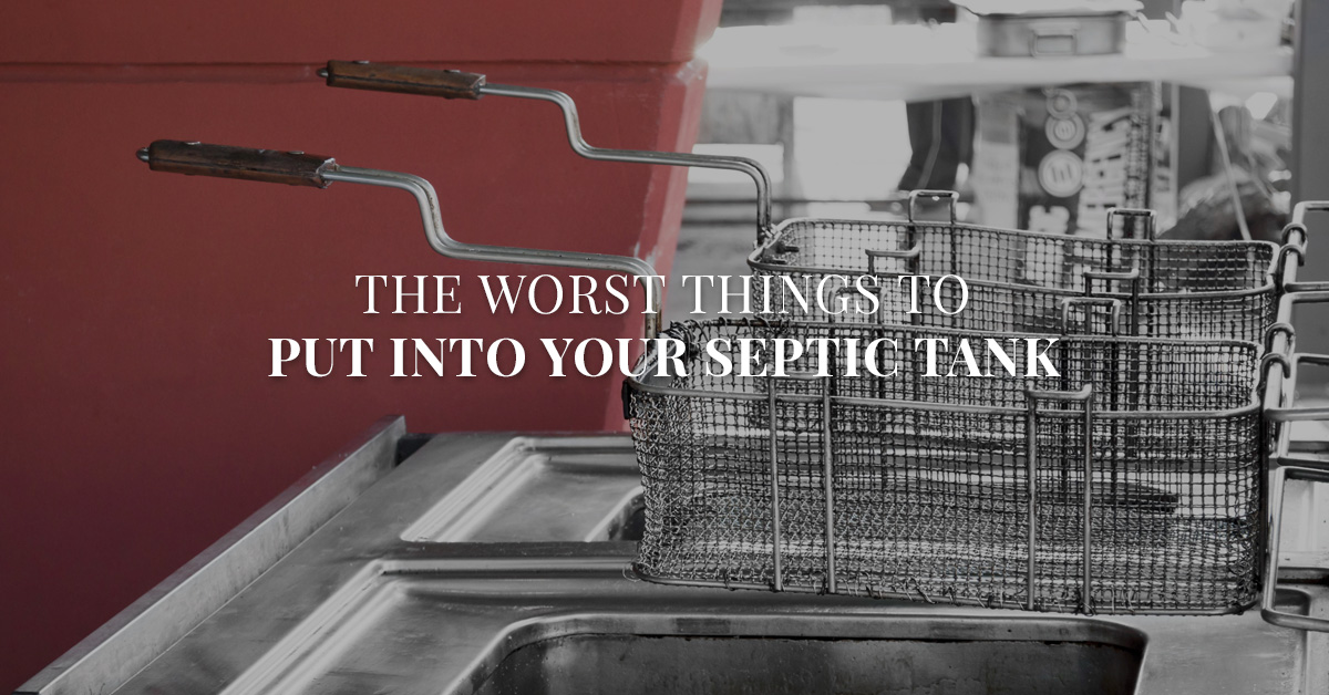 The Worst Things to Put Into Your Septic Tank