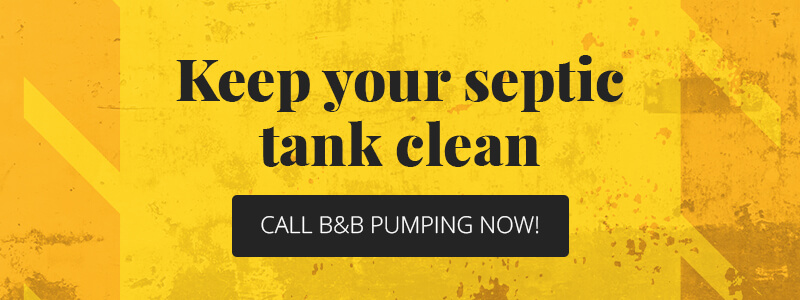 Keep Your Septic Tank Clean CTA