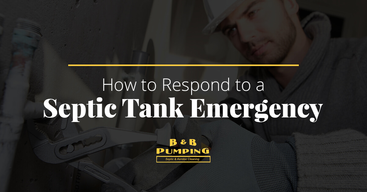 How to Respond to a Septic Tank Emergency