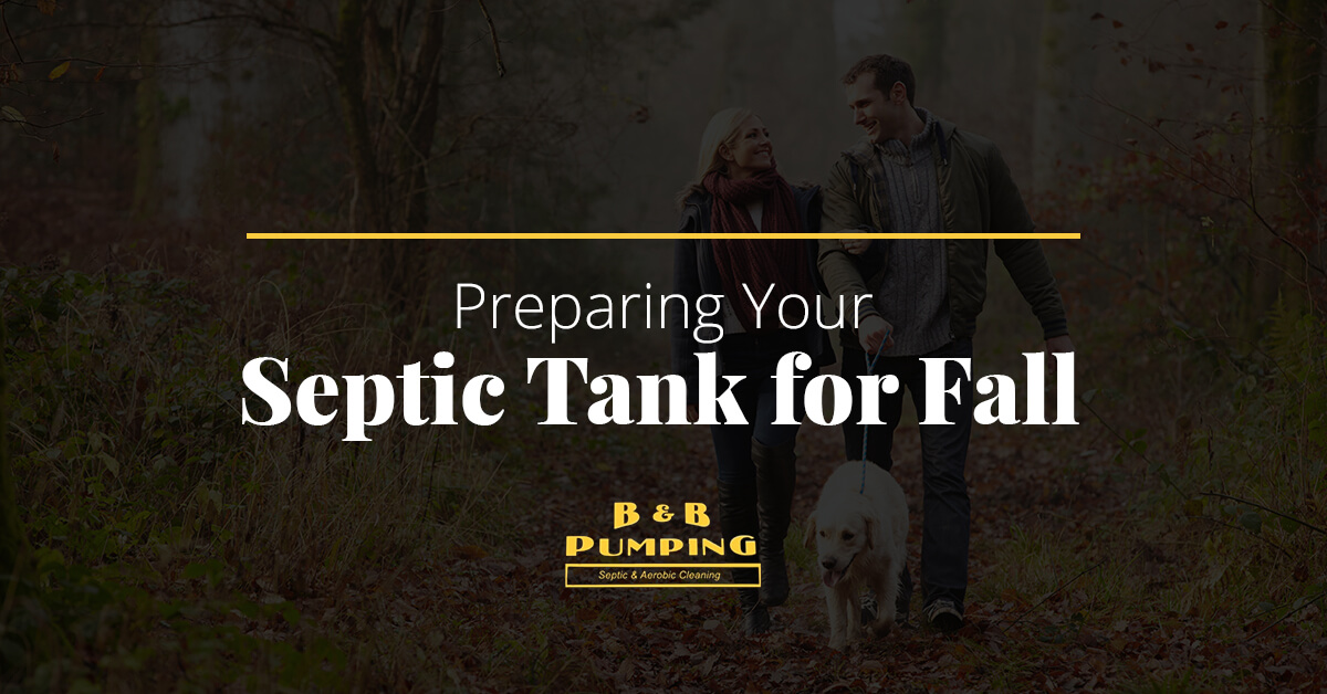 Preparing Your Septic Tank for Fall