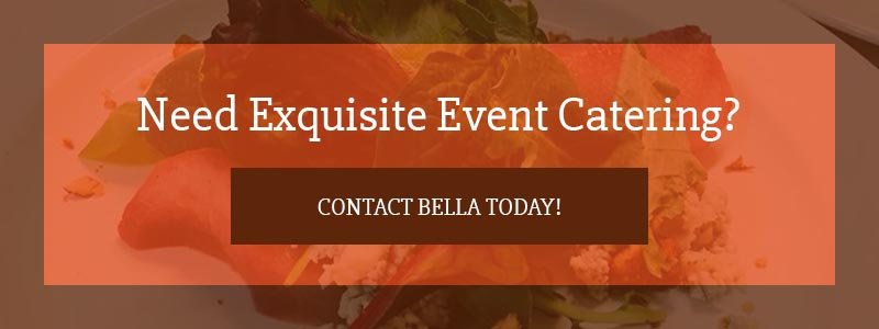 Call to action for event catering.