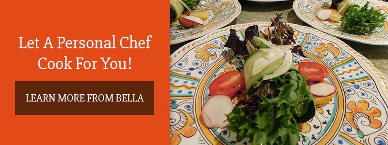 Call to action about personal chef services.