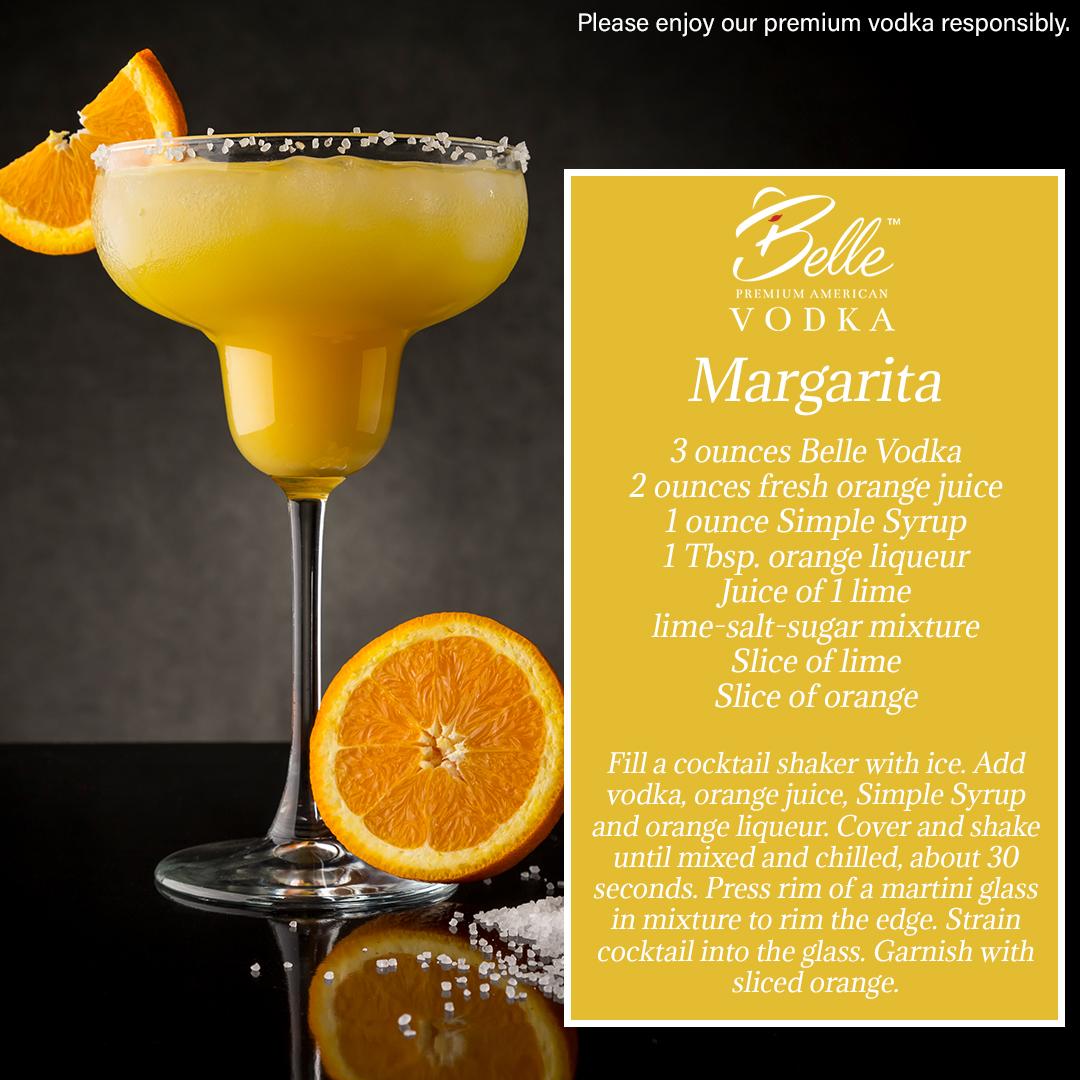 Vodka Cocktails - Learn Ways To Enjoy Belle™ Vodka Distilled
