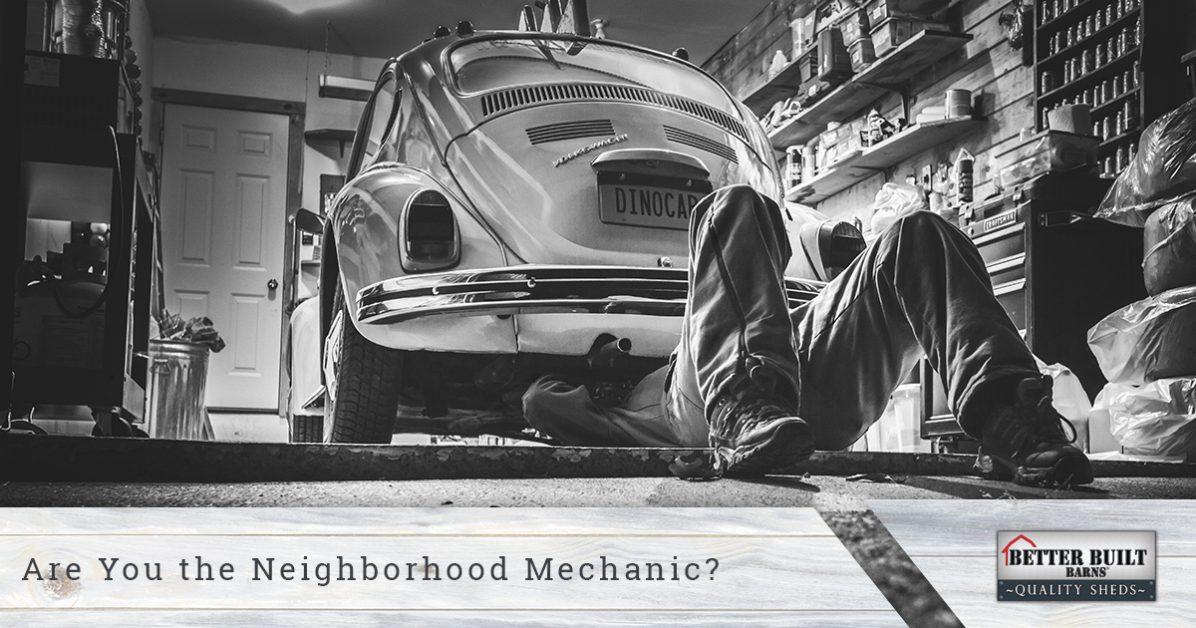 Custom Garages Washington: The Neighborhood Mechanic
