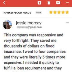 Home buyer flood insurance