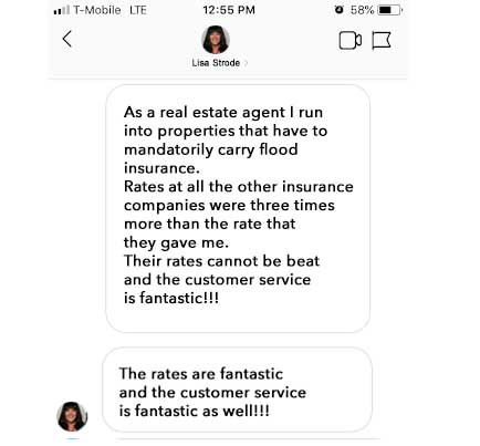 Real Estate Agent Flood insurance