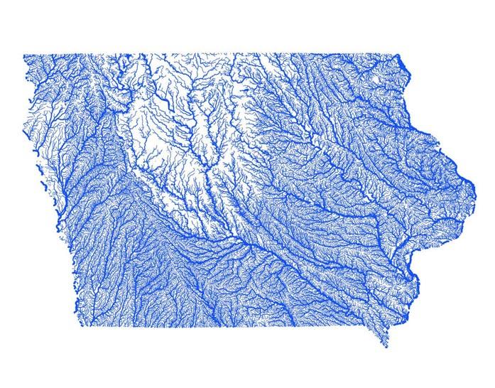 Iowa flood maps